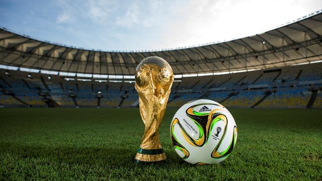 Bola da decisão da Copa do Mundo  conheça a brazuca Final Rio - Bola ... 6ef292dd7ba76