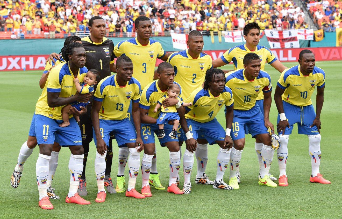 Seleção do Equador chega nesta segunda-feira à Viamão - Seleção do ... a70e51e6283d9