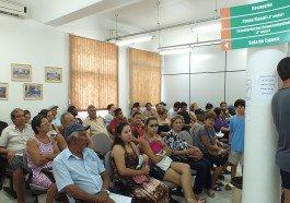 Contribuintes procuraram Secretaria da Fazenda para retirar o carnê do IPTU