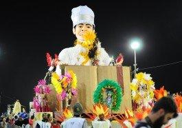 Desfile da Acadêmicos de Gravataí no Porto Seco nesta sexta-feira, 13 de fevereiro