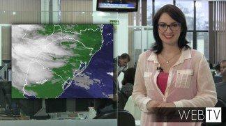 Sexta-feira será de céu parcialmente nublado e de instabilidade no Estado