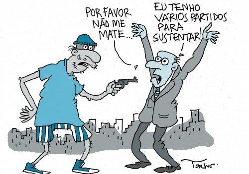 Resultado de imagem para PARTIDOS POLÍTICOS CHARGES