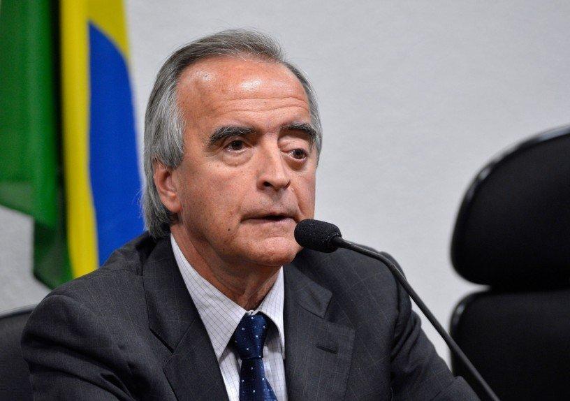Nestor Cerveró durante depoimento à CPI da Petrobras
