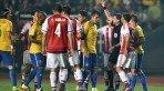 Brasil e Paraguai se enfrentaram no Chile, em partida pelas quartas de final da Copa América