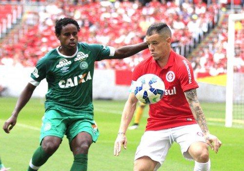 Inter enfrenta a Chapecoense no Beira-Rio pelo Brasileirão