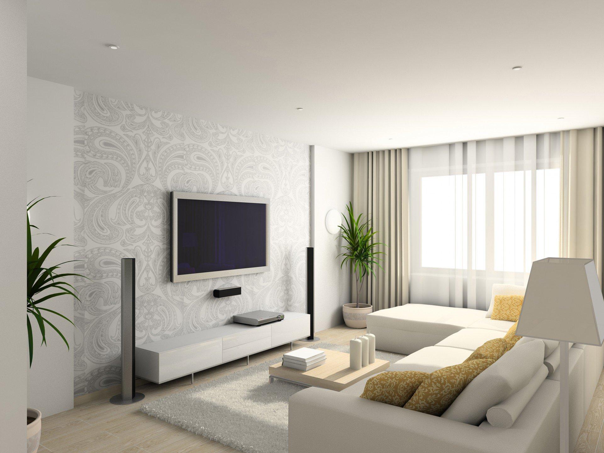 Dicas E Truques D O Sensa O De Amplitude A Um Ambiente Compacto  -> Forro De Gesso Para Sala De Estar