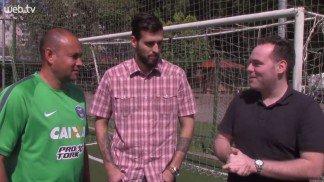 Tempo T�cnico entrevista Rog�rio Maia, preparador de goleiros da Sele��o Brasileira