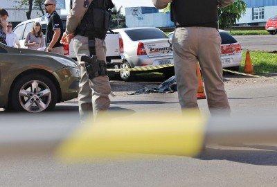 Homic�dio ocorreu em frente � empresa onde Vargas era s�cio majorit�rio