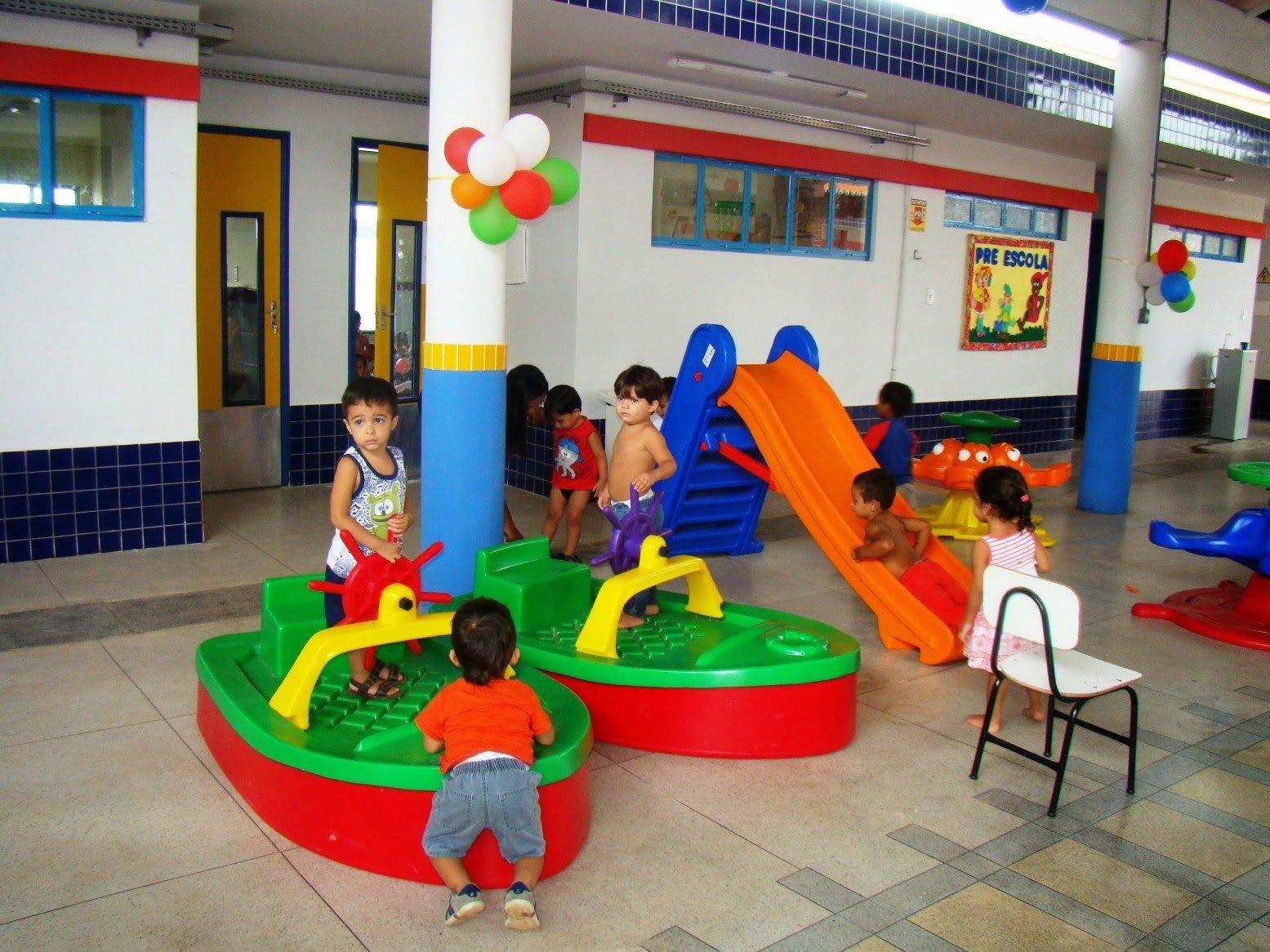 Educação infantil em creches