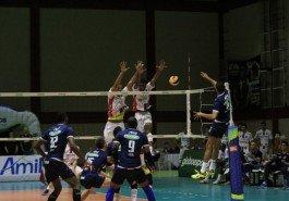No primeiro turno, o Sada Cruzeiro venceu a Voleisul por 3 sets a 1