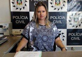 Delegada Marina Dillenburg comanda as investigações do caso