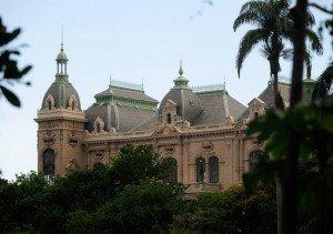 Palácio Laranjeiras é residência oficial do governador do estado do Rio de Janeiro