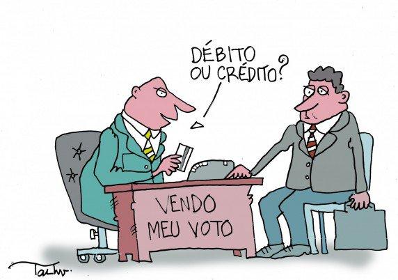 Resultado de imagem para temer compra votos charges