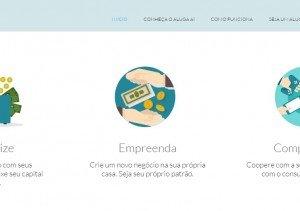O site Aluga Aí também oferece aluguel de objetos