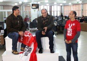 Vacaria participou em junho de 2015 do programa Arquibancada Colorada na WebTV do Jornal NH