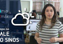 Nebulosidade e possibilidade de chuva isolada marcam a quarta-feira no Estado