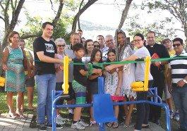 Moradores agora podem fazer academia ao ar livre em Dois Irmãos