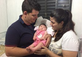 Com encefalocele, Isa precisa de R$ 100 mil para fazer cirurgia em São Paulo