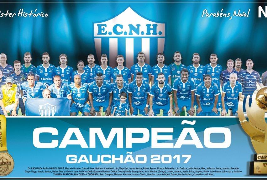 Baixe o pôster do time do Noia campeão gaúcho de 2017 - Novo ... 6fd382efa98da