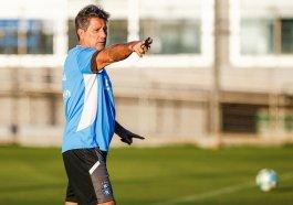 Renato preparou a equipe para o clássico deste domingo