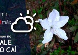 Previsão do tempo para a próxima quinta-feira (27)
