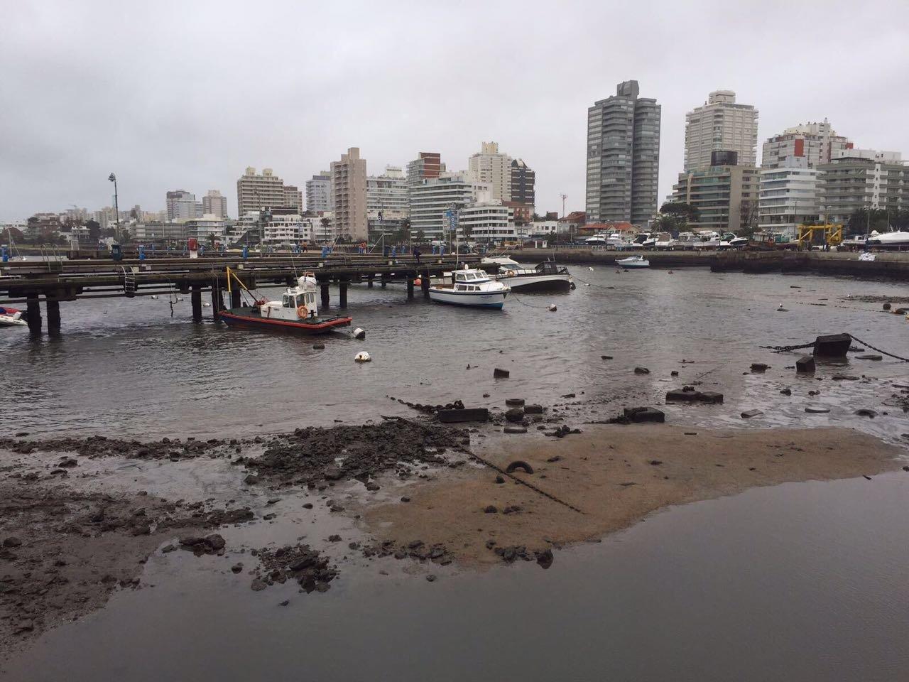 Mar recua em punta del este e assusta moradores do uruguai - Agua sin cal ...