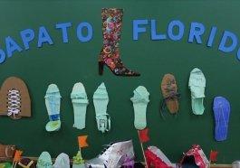 Projeto ensina a alunos de escola municipal processo de produção de calçados