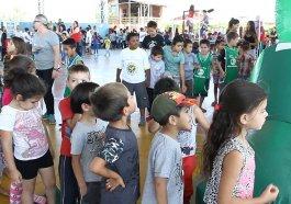 Garotada da Santo Afonso se diverte em festa de Dia das Crianças