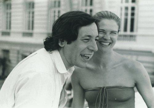 Tarso de Castro e Candice Bergen