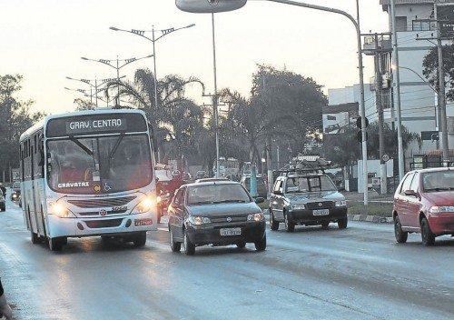 Trânsito sem carros novos