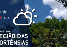 Semana começa com temperaturas altas e possibilidade de chuva na região