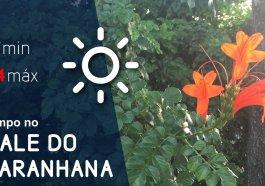 Sexta-feira será ensolarada na região