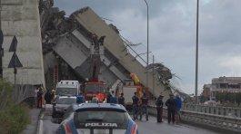 O desabamento de um viaduto em Gênova, na Itália