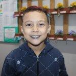 Rafael Fernandes Soares, 8 anos, estudante do 3º ano da Escola Nilo Peçanha