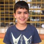 Kauã Dias Dannenhauer, estudante do 8º ano da Escola Hugo Engelmann