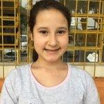 Maria Eduarda Portes Maciel, 9 anos, estudante da Escola Hugo Engelmann