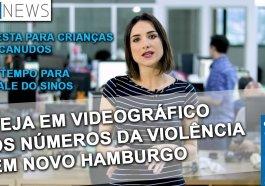 NH News: veja em videográfico os números da violência em Novo Hamburgo