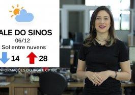 Quinta-feira será mais um dia de sol entre nuvens na região