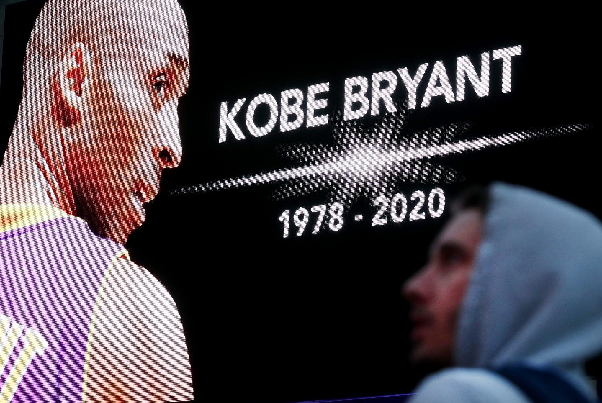 Resultado de imagem para Corpo de Kobe Bryant identificado entre as vítimas do acidente aéreo