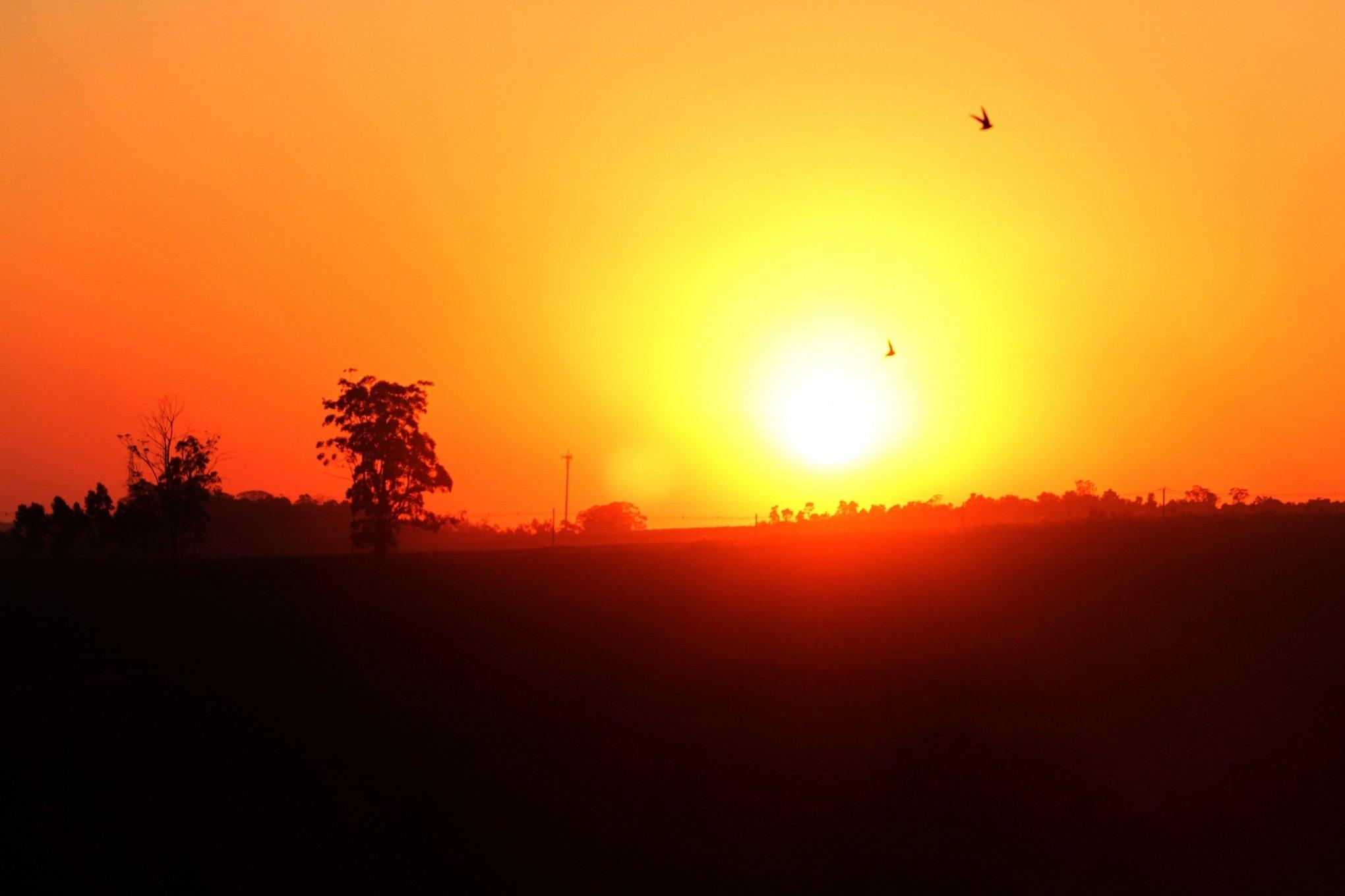 Resultado de imagem para Estiagem deve seguir e os próximos dias terão calor de até 40°C no RS