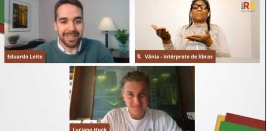Estado faz parceria com Instituto de Luciano Huck e oferecerá conteúdo extra ao Ensino Médio