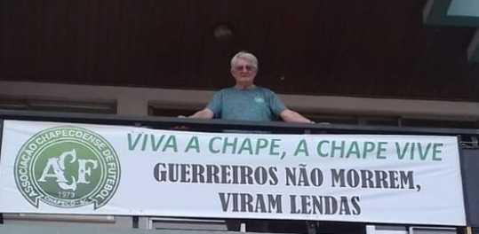 Tragédia da Chape completa quatro anos com homenagens a atletas e equipe técnica