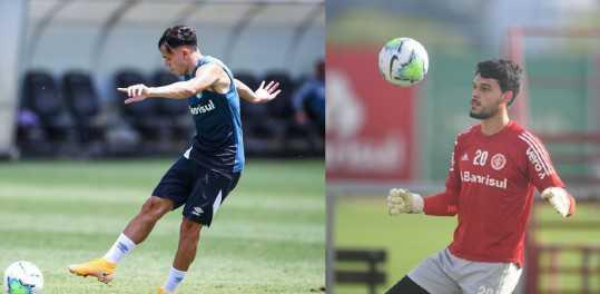 Inter e Grêmio fazem últimos treinos antes do Clássico