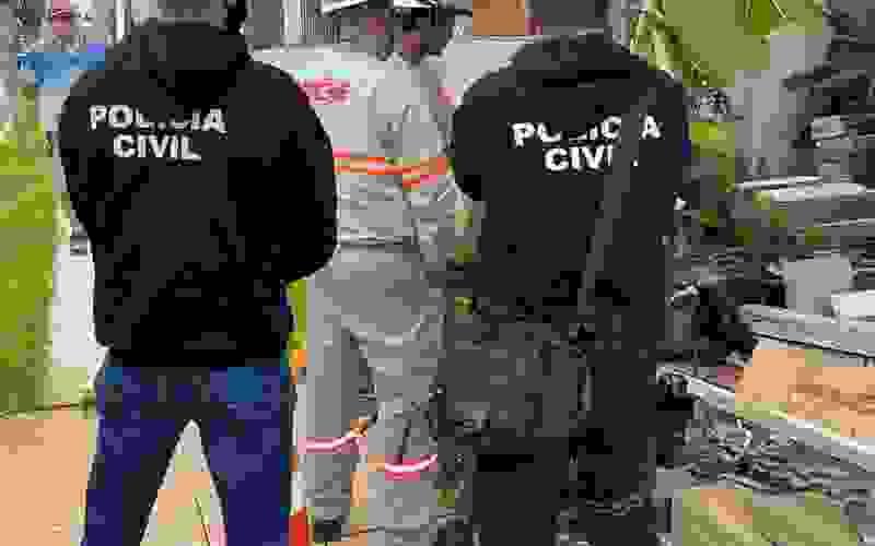 Técnicos da Rio Grande Energia e agentes da Polícia Civil garantiram os flagrantes