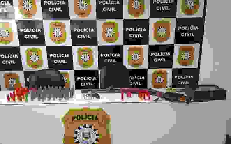 Operação Saibreira da Polícia Civil foi deflagrada na manhã desta quinta-feira