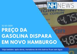 NH NEWS: Preço da gasolina dispara em Novo Hamburgo