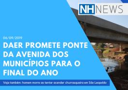 Daer promete ponte da Avenida dos Munic�pios para o final do ano